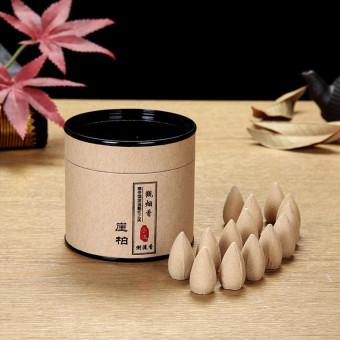 Backflow incense cones 40 pcs with a free ceramic incense burner