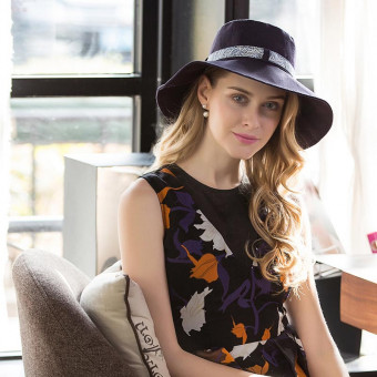 Fashion bucket hat with bow women's bucket sun hat near me