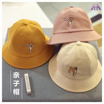 Cotton parent-child sun hat bucket hat for parent and children