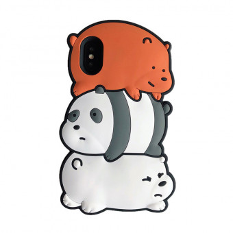 We Bare Bears iPhone Case for iPhone 6/6p/7/7p/8/8p/X/XR/XS/XS Max