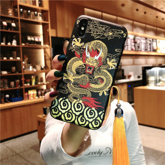 Chinese Style Vintage Palace Tassel Phone Case For iPhone and HuaWei