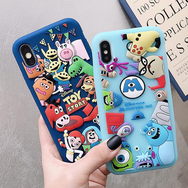 Disney Iphone Cases Cartoon Iphone X Case Iphone 7 Plus Silicone Case