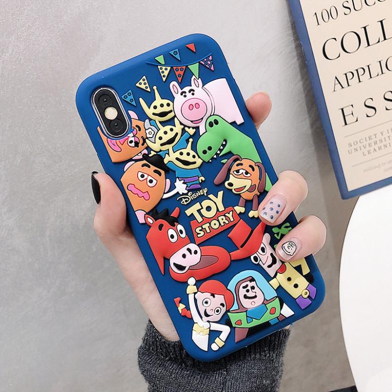 Disney iPhone Cases, Cartoon iPhone x Case, iPhone 7 Plus Silicone ...