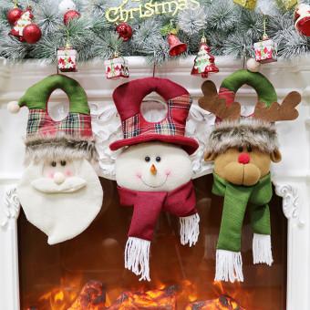 Crafts ornaments door knocker hanging window decoration for Christmas