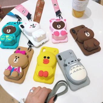 Fashion cute phone case for iPhone 6/6 Plus/7 /8/8 Plus/x/xs/xr/xs max