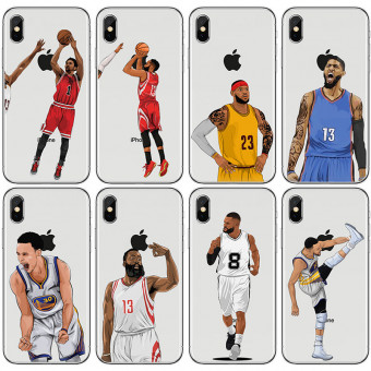Fashion NBA star phone case for iPhone