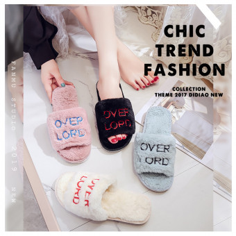 Slippers winter indoor shoes cotton slipper for winter or cold weather