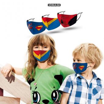 Superhero face masks for kids marvel themed face coverings
