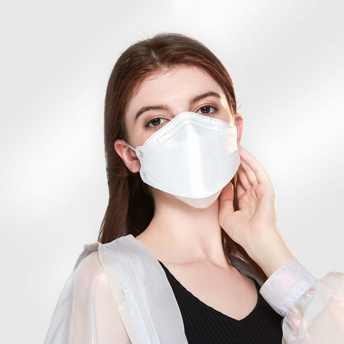 KF94 face masks for adults 4-Layer fish-shaped face coverings