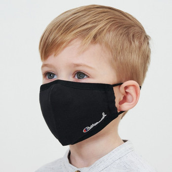 Washable cotton face masks pure color face coverings for kids