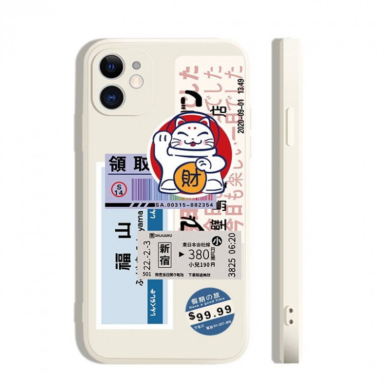 Cute cartoon iphone cases printed with various adorable and ...
