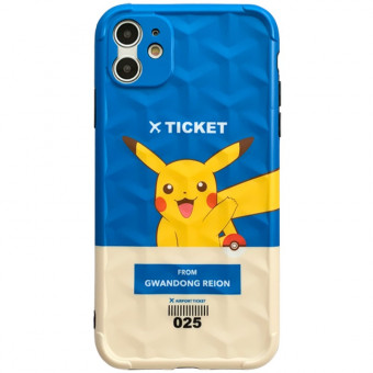 Pikachu phone cases for iPhone creative Pikachu tiket iPhone covers